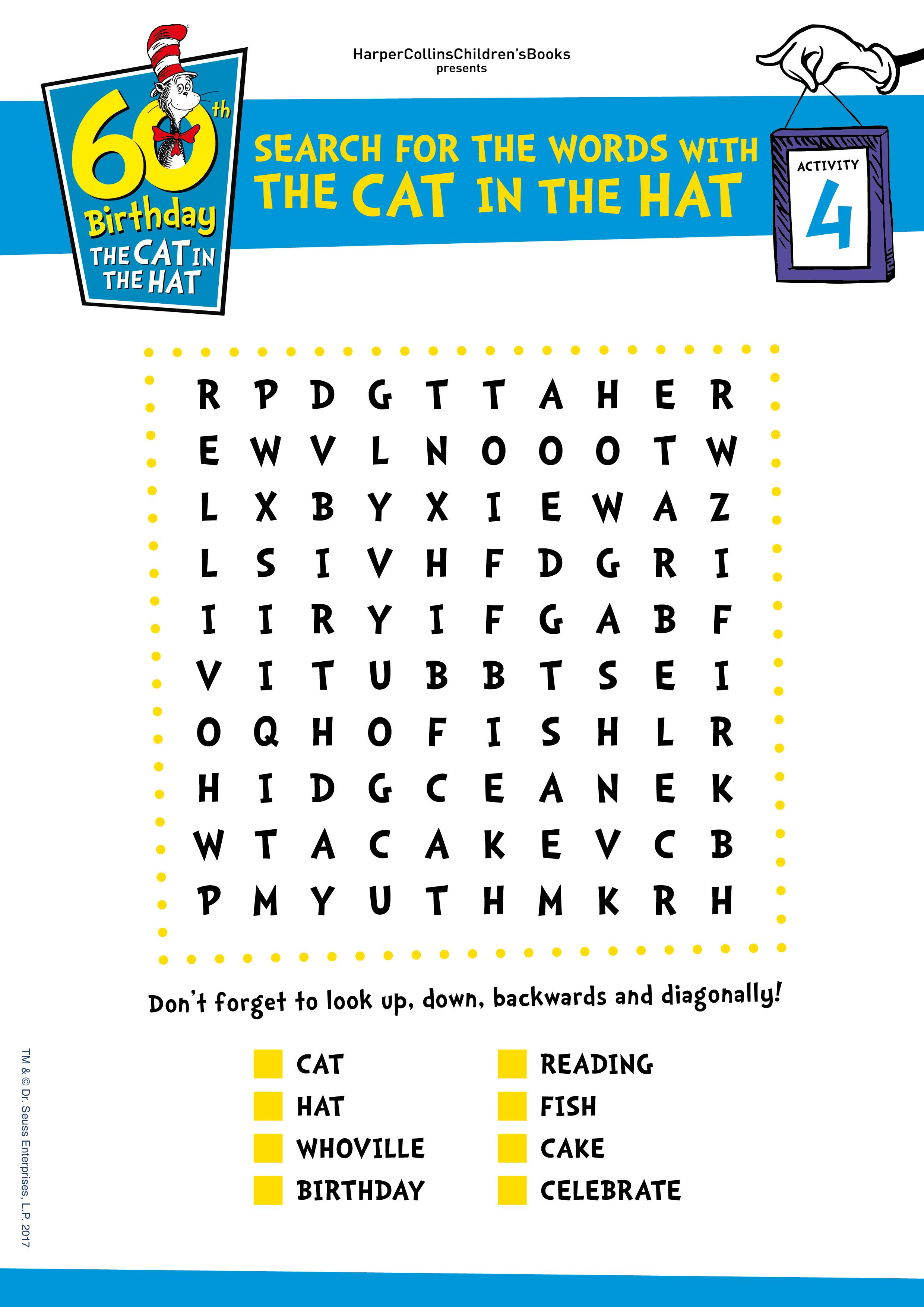the cat in the hat book pdf