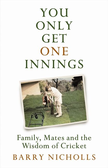You only get one innings - cover