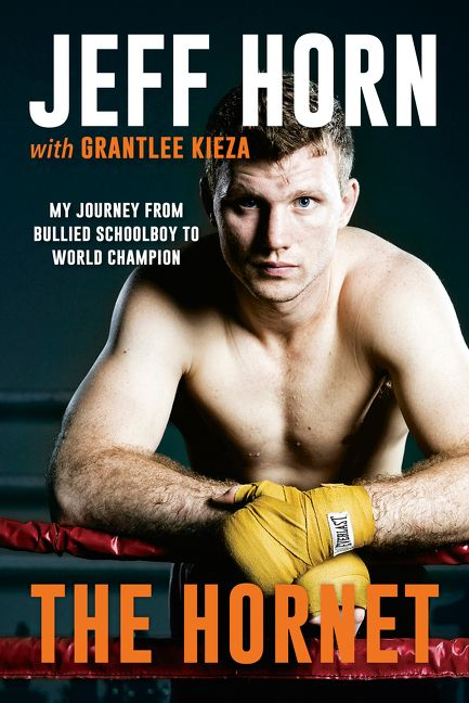 Jeff Horn, 'The Hornet' cover