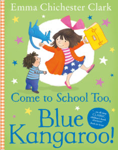 Come to school too, Blue Kangaroo