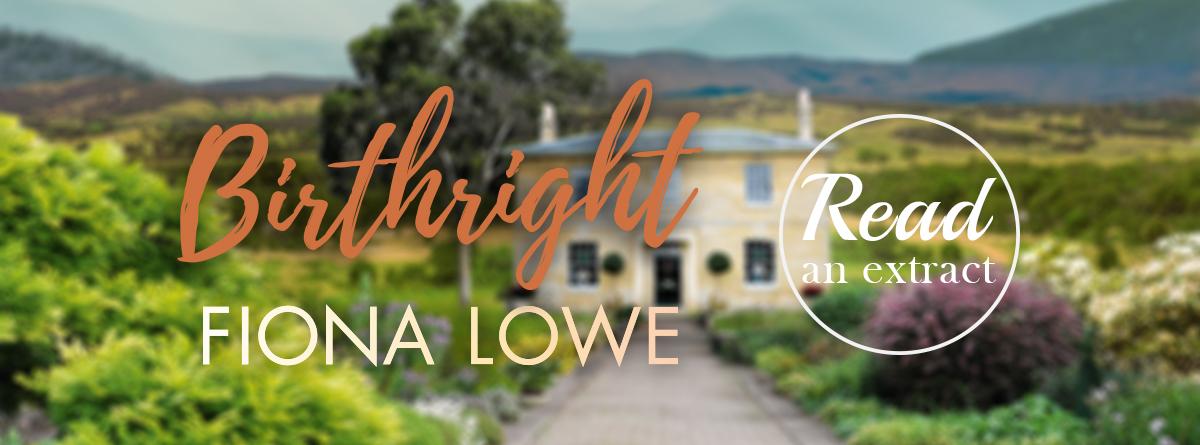 Birthright by Fiona Lowe