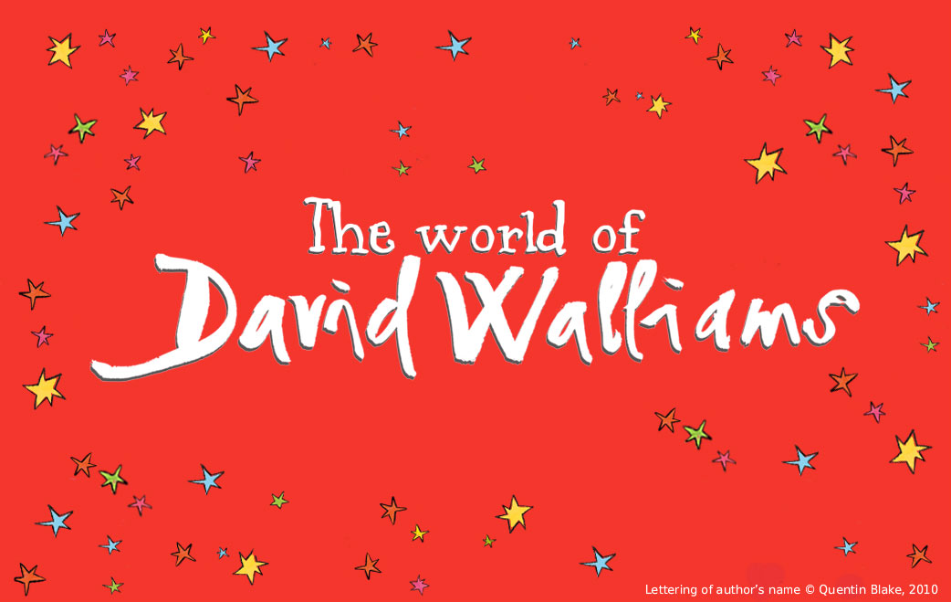 Image result for david walliams logo