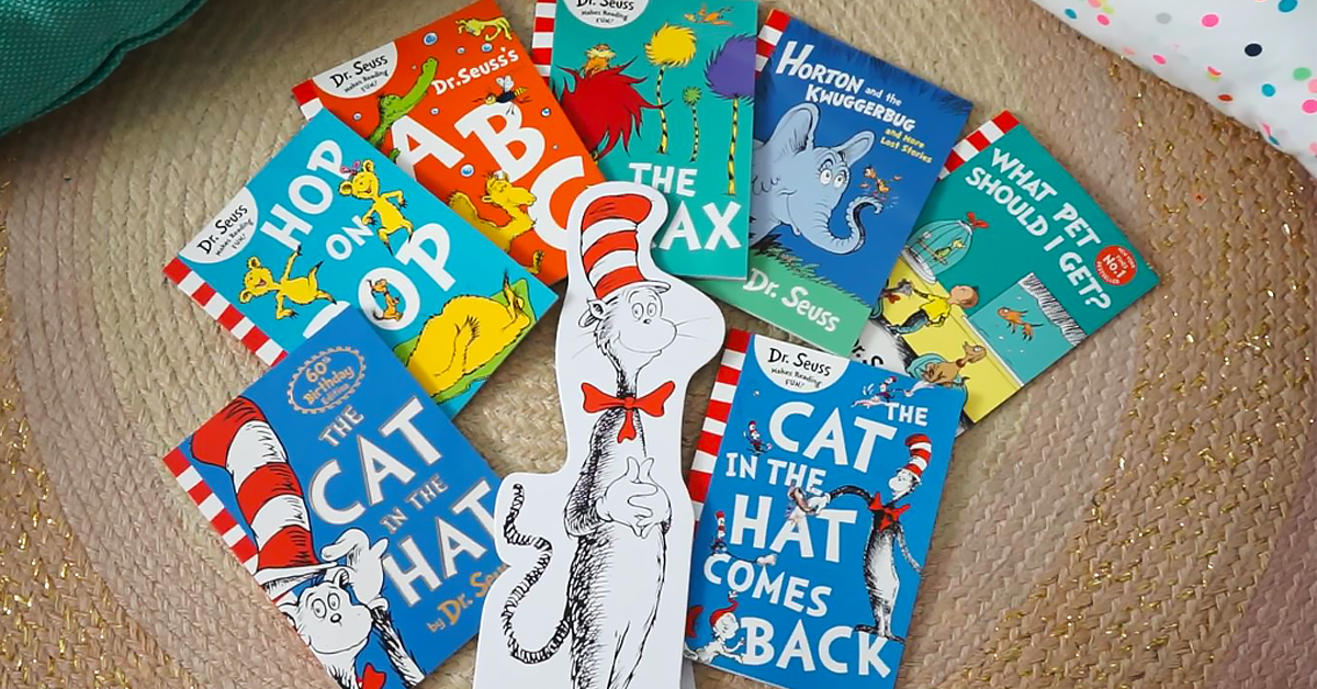 The Cat In Hat 60th Birthday Activity Sheets