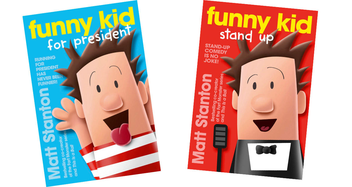 Matt Stanton's Funny Kid covers
