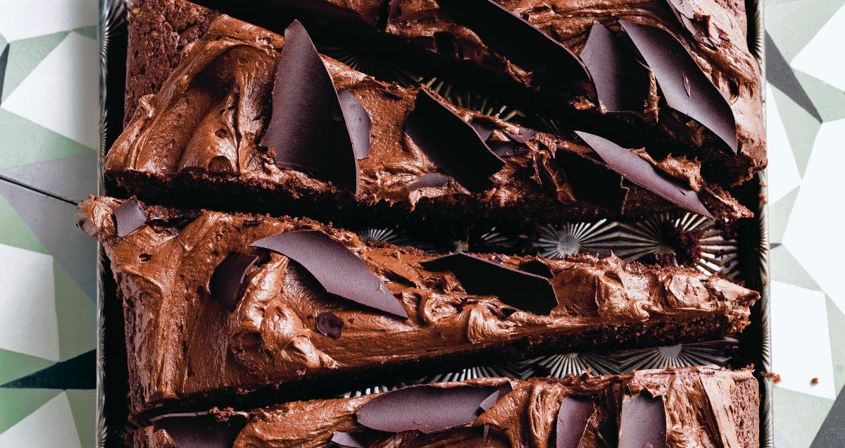 Texan chocolate sheet cake