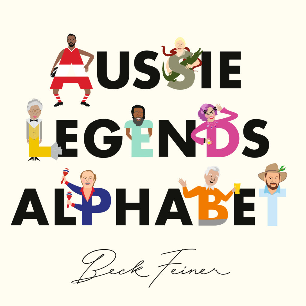 Aussie Legends Alphabet