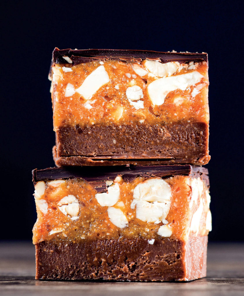 Snickers slice Wholefood Simply recipe