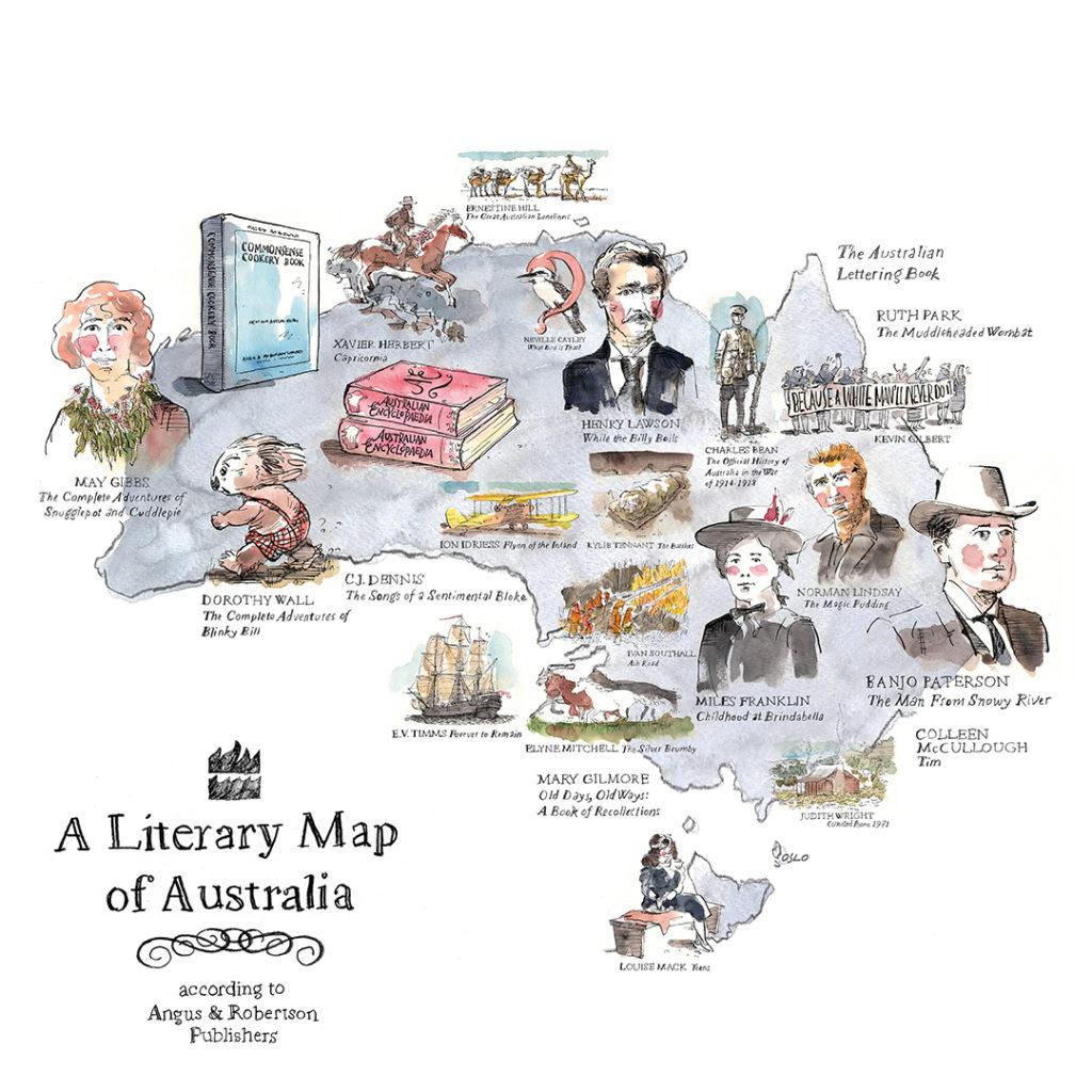 A Literary Map of Australia