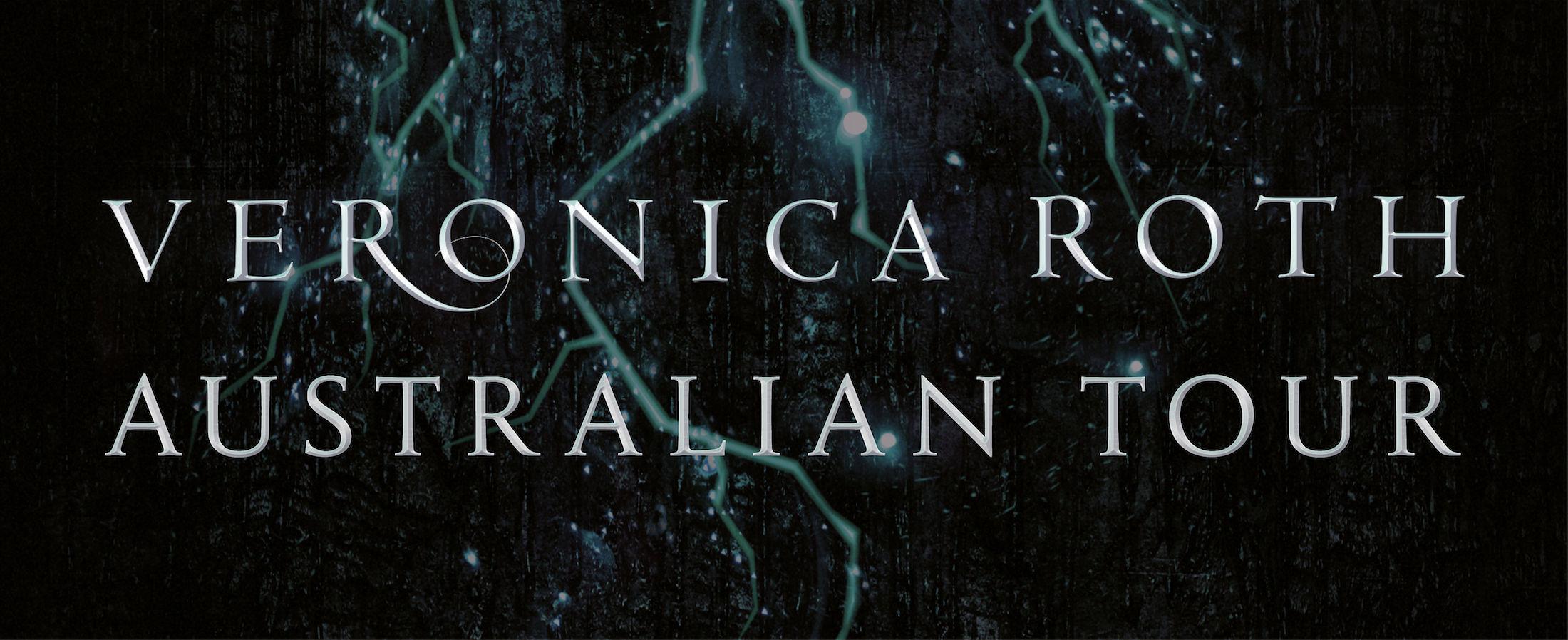 Veronica Roth Australia tour event