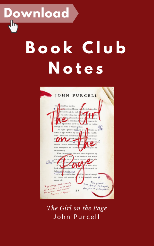 The Girl on the Page Book Club Notes