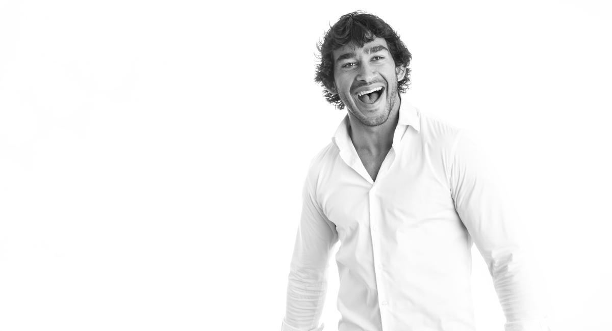 Johnathan Thurston smiling white background