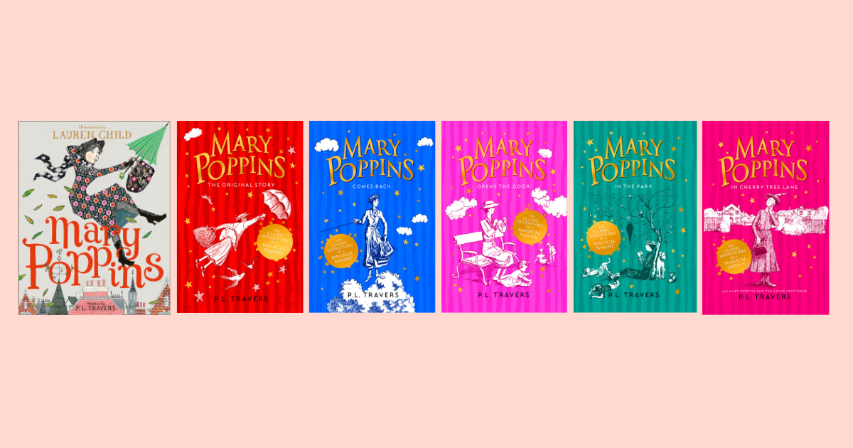 Win a complete Mary Poppins library! - HarperCollins Australia