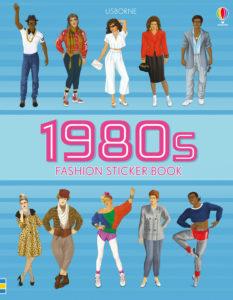 1980s fashion sticker book cover